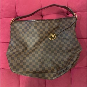 EUC Authentic Louis Vuitton Delightful Damier MM